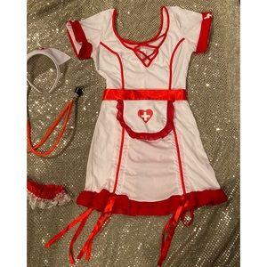 Sexy nurse halloween costume size M🎃